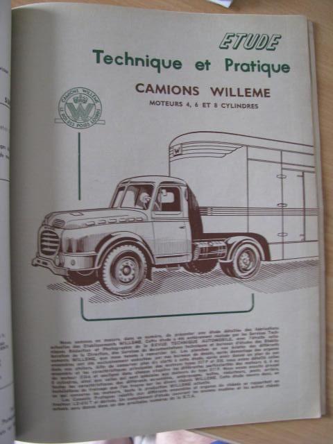 BERLIET 950 951 KB revue technique RTD 93
